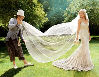 Kate Moss i John Galliano. Fot. za: Vogue