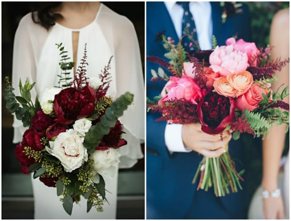 Fot. za: bridalmusings.com i deerpearlflowers.com